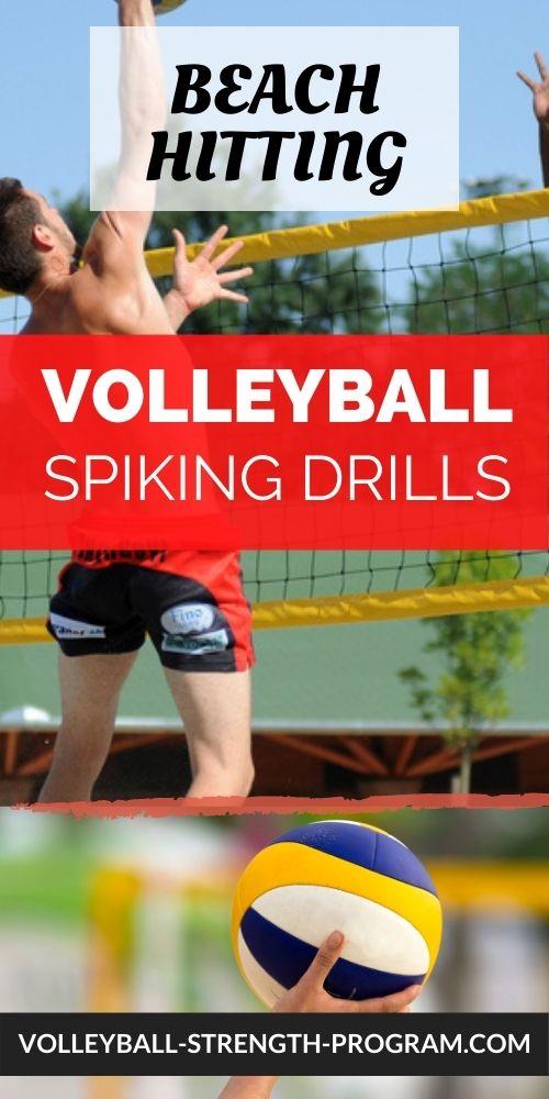 Beach Volleyball Hitting Drills