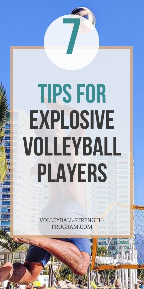 Explosive Power for Volleyball