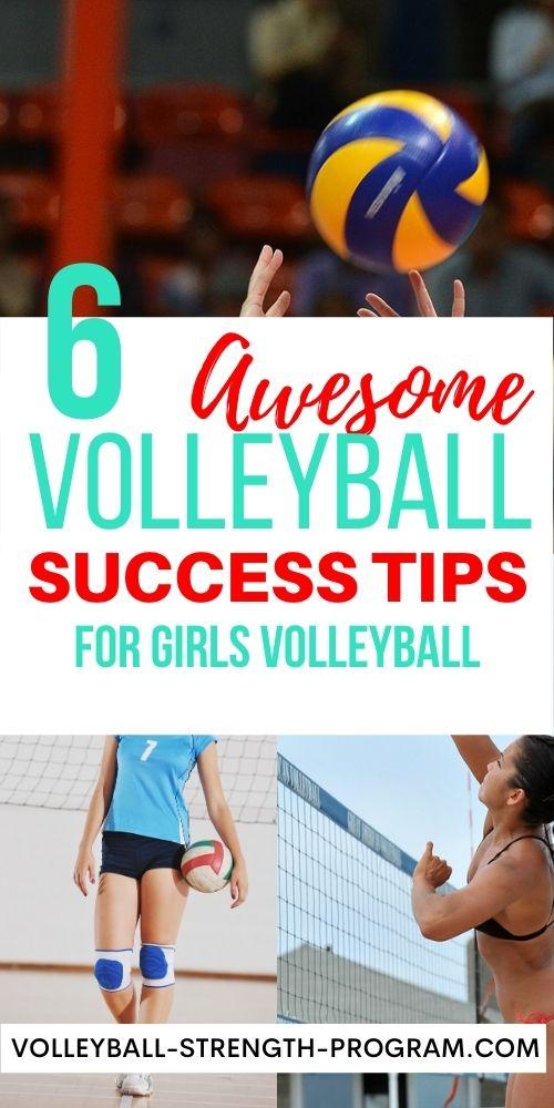 Girls Volleyball Tips
