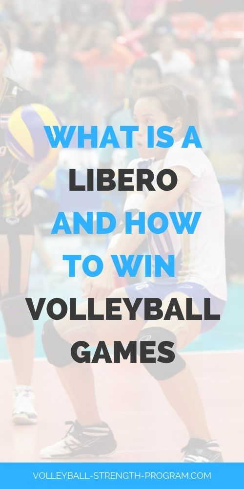 Libero in Volleyball Explained
