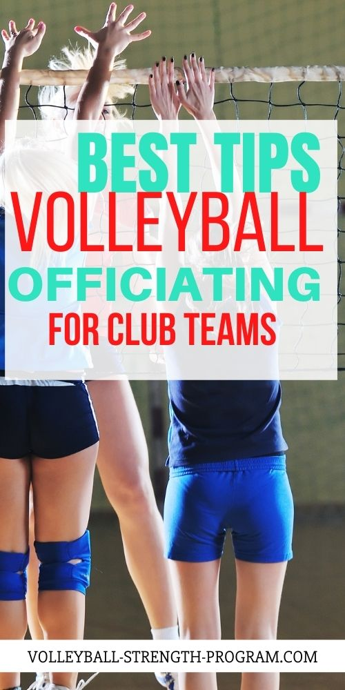 Official Rules in Volleyball