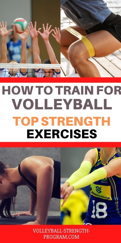 Volleyball Exercises for Strength