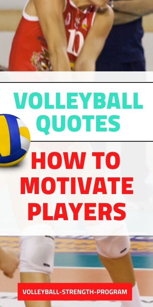 Quotes for Volleyball