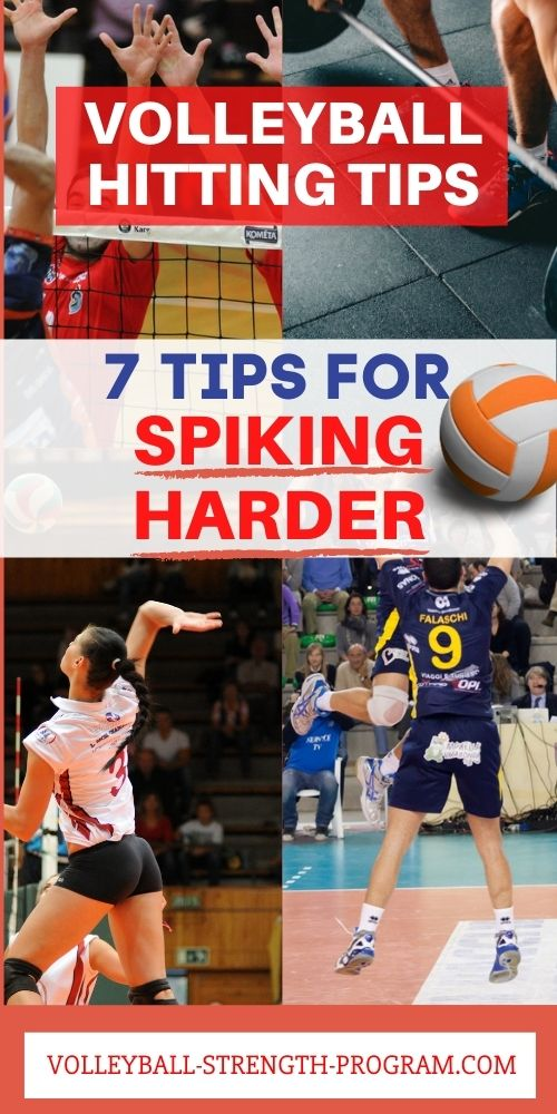 How to Spike a Volleyball Harder