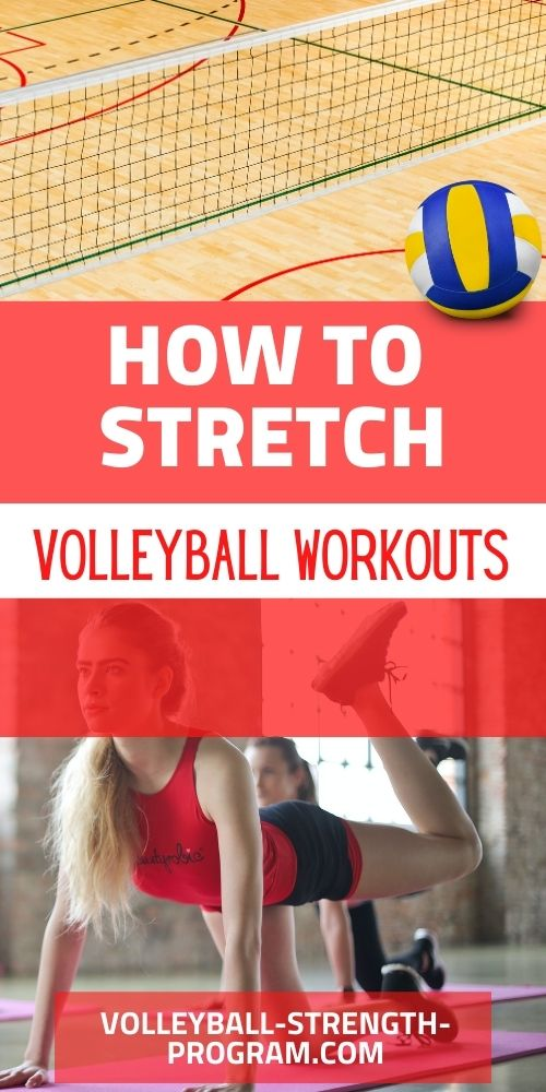 Volleyball Stretching Tips
