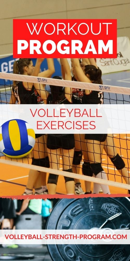 Volleyball Workout Program Tips