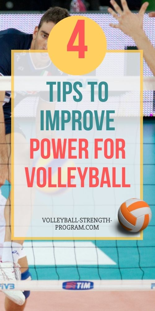 weight training for volleyball