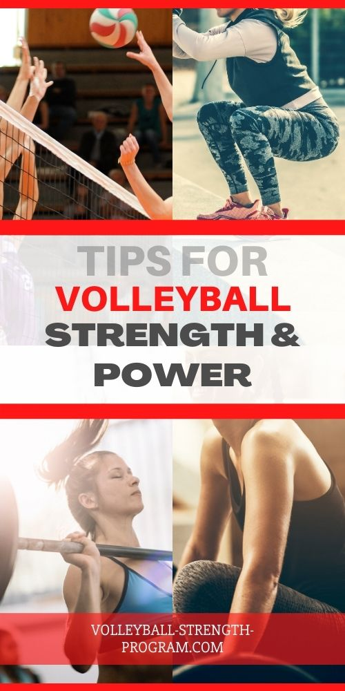 Getting Strong for Volleyball