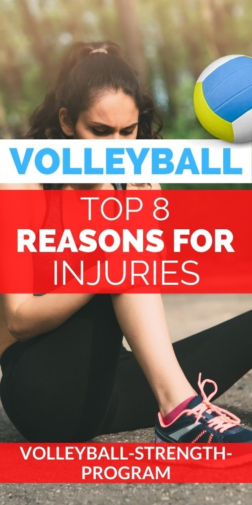 Top Ways to Get Injured in Volleyball