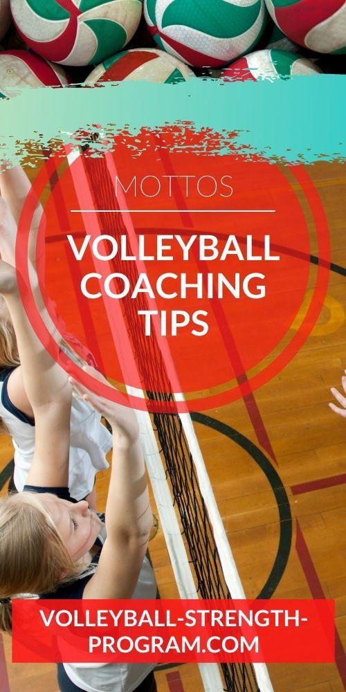 Volleyball Mottos