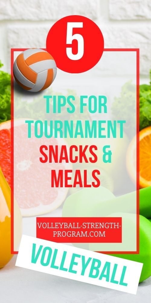 Volleyball Nutrition and Snacks