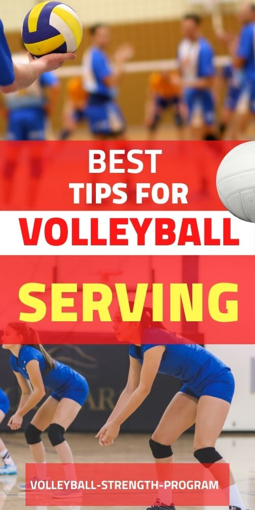 Volleyball Serve Tips