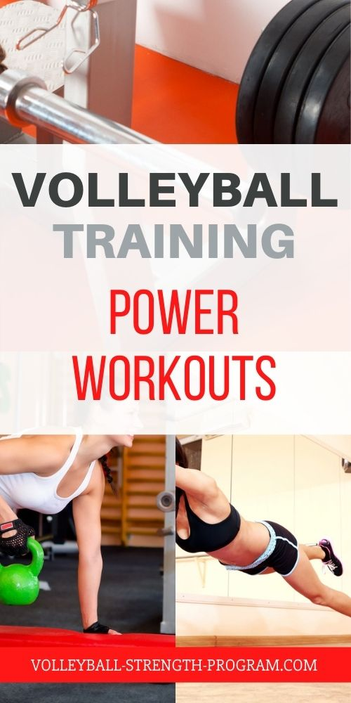 Workouts for Volleyball