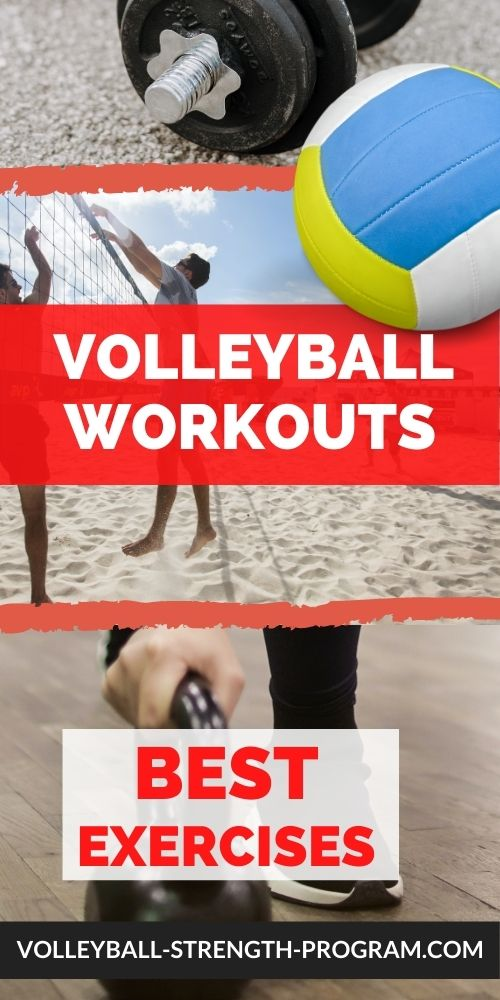 Workouts for Volleyball Important Tips